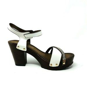 New Nature Breeze Womans Vint02  Platfrom Strappy